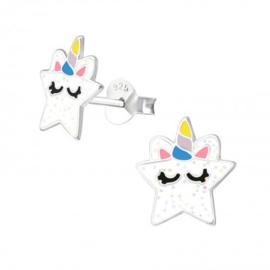 Kinderoorbellen unicorn ster