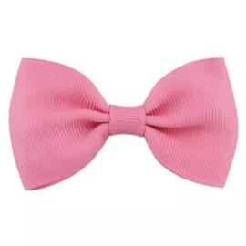 Haarlokspeld met strik roze