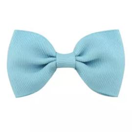 Haarlokspeld met strik blauw