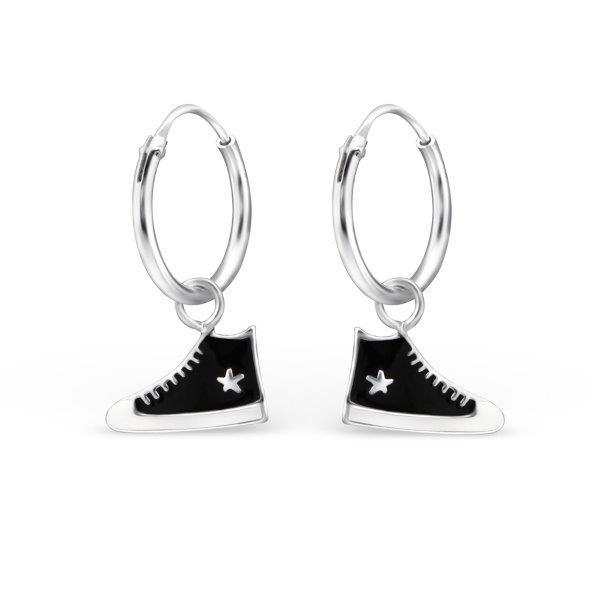 Oorbellen hoops sneakers