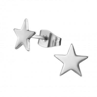 Kinderoorbellen chirurgisch staal sterren