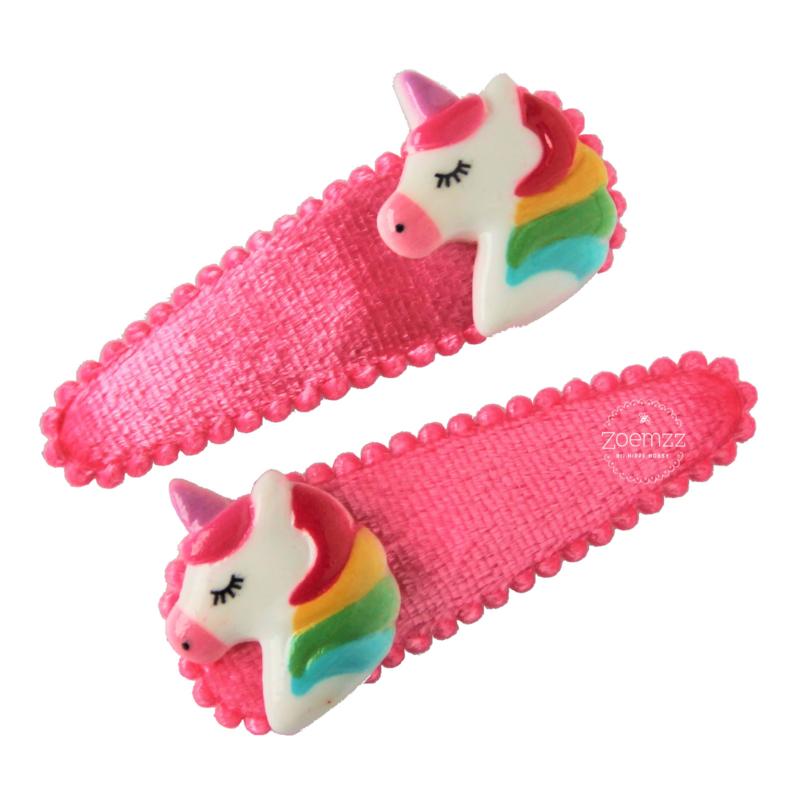 Set haarspeldjes unicorn