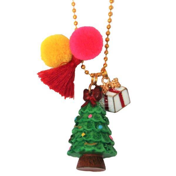 Ketting met kerstboom