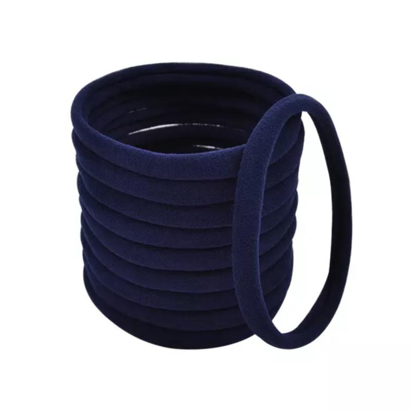 Basis haarelastiek donkerblauw