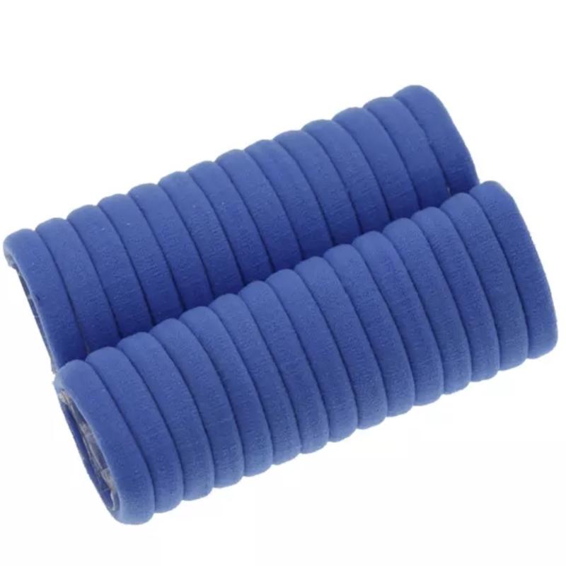 Basis haarelastiek blauw