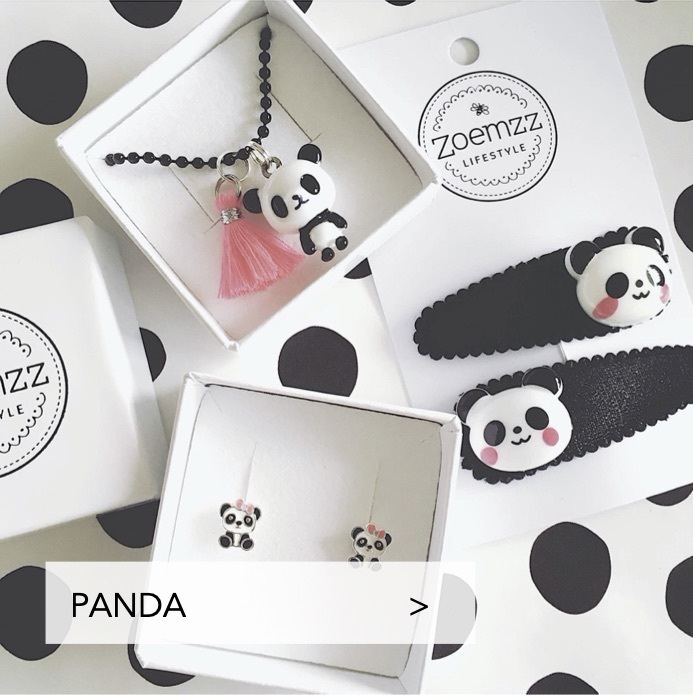 Kinderketting panda
