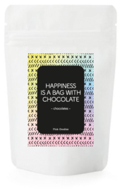 Happy Colors / Chocolates / Happiness is a bag with chocolate