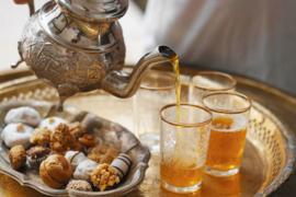 Marokkaanse  Munt Thee