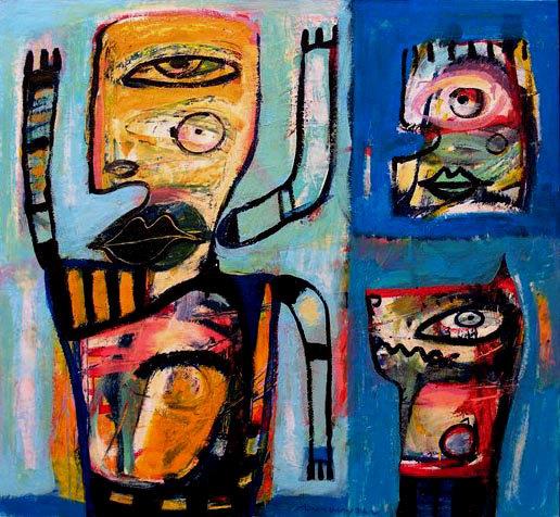 Henk Vierveijzer - Drie armen