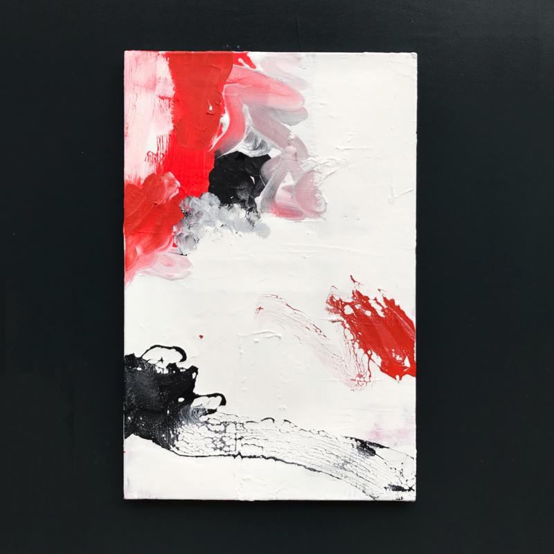 Niel de Vries - Passion, Red and Void no. 3
