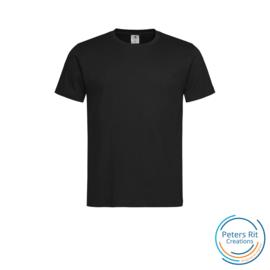Heren T-shirt R-hals korte mouwen