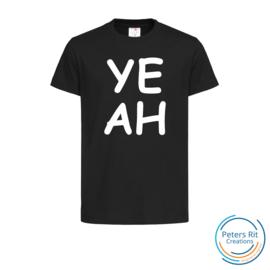 Kinder T-shirt korte mouwen | YEAH