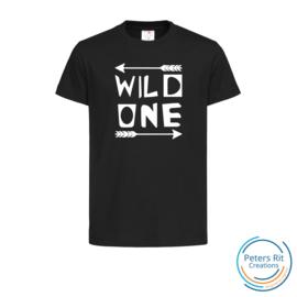 Kinder T-shirt korte mouwen | WILD ONE