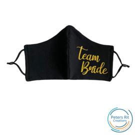 Mondkapje   Verstelbaar - TEAM BRIDE