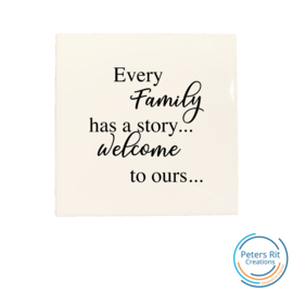 Tegel   FAMILY STORY WELCOME