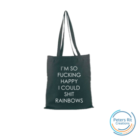 Tas katoen |  OW084 HAPPY RAINBOWS