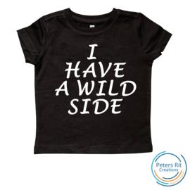 Kinder T-shirt korte mouwen | WILD SIDE