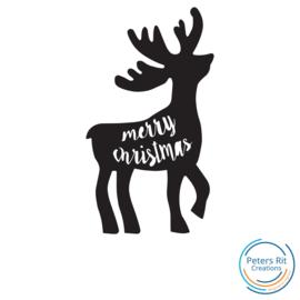 Raamstickers | RENDIER MERRY CHRISTMAS
