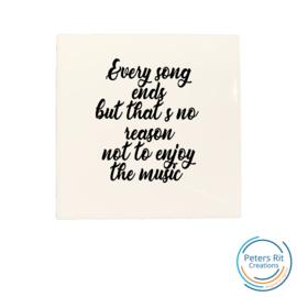 Tegel   SONG ENDS ENJOY MUSIC