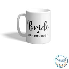 Mok | OW124 BRIDE HARTJE + DATUM