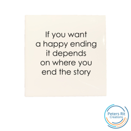 Tegel   HAPPY ENDING STORY