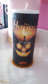 Pompoen Halloween kaars