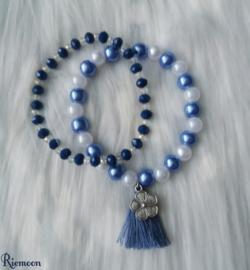 Denim Blue Armbanden setje