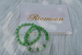 Green Power armbanden setje