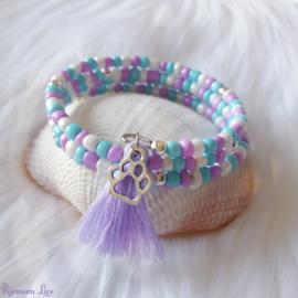 Memory Whire Purple Love