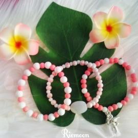 Flamingo Power armbanden setje