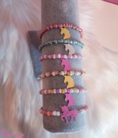 Happy Unicorn armbandjes (Kinderarmbandjes)