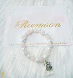 White Angel Armband
