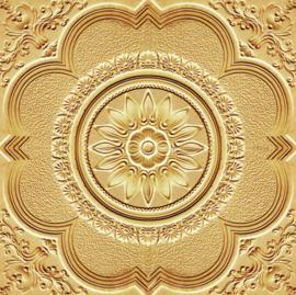Stucco Ornament Gold