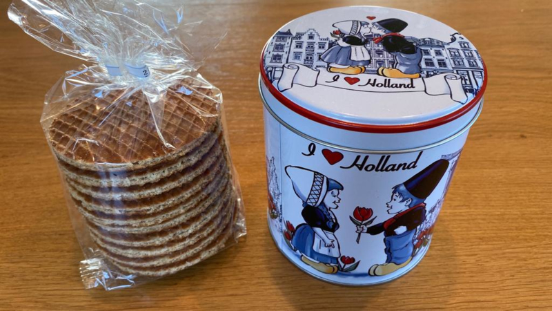 Stroopwafel blikje I LOVE HOLLAND