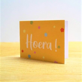 Hoera! | veldbloemen
