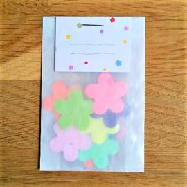 Blanco | confetti met zaden van veldbloemen