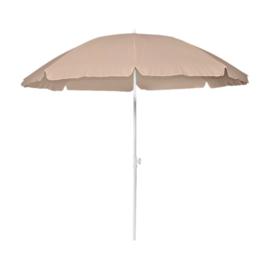 Parasol Ø 200CM Ecru + Voet 10L Plastic