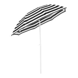 Parasol met Knik Ø 180CM Zebra + Tegelpen