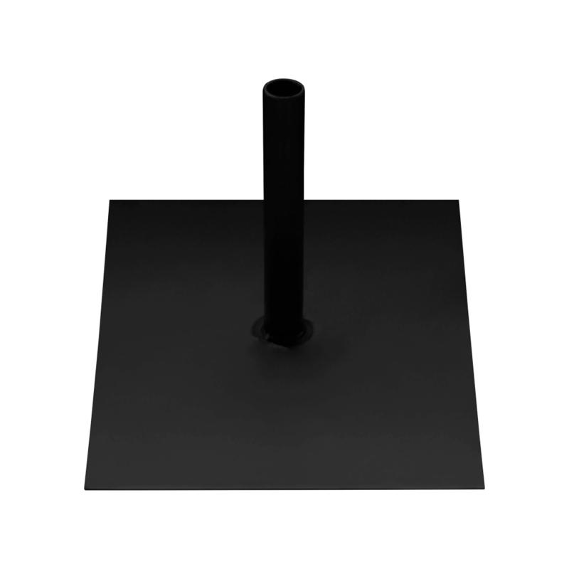 Grondplaat Metaal Zwart