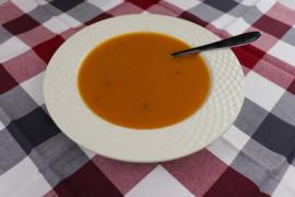 Tomaat-Pompoen Crèmesoep