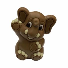 Chocolade geboorte olifantje