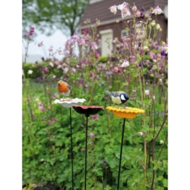 Vogel voederschaal Zonnebloem