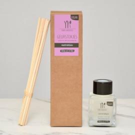 Geurstokjes 50 ml Viool & Lathyrus
