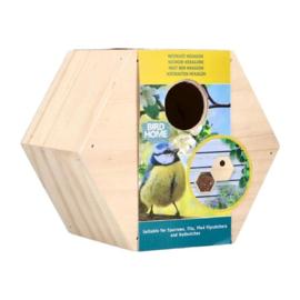 Bird Home Hexagon Mezen Nestkast