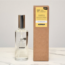 Kamer- en Kussenspray 100 ml Limoenblad & Gember
