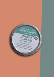 Three Butter Lotion Bar