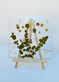 Epoxy art Eucalyptus
