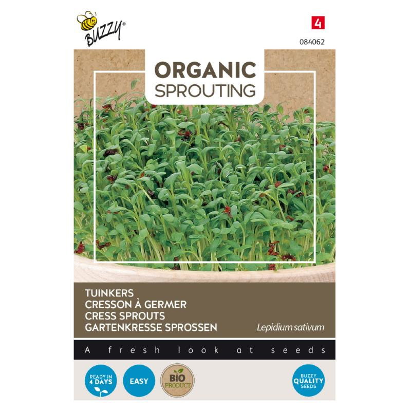 Buzzy® Organic Sprouting Tuinkers (BIO)