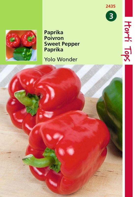 Paprika Yolo Wonder (HT)