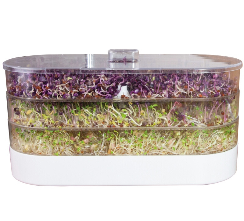 Buzzy® Organic Sprouting Tower 3 laags